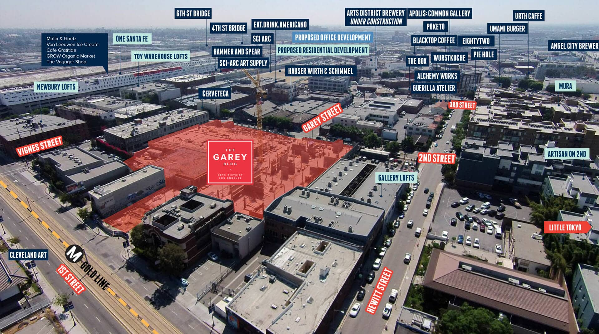 The North Arts District Quickly Becoming The Most Interesting District Downtown Here Comes The Garey on Apartments For Rent Los Angeles